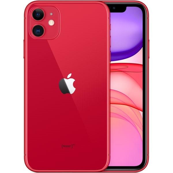 Apple iPhone 11 (64GB) - Red