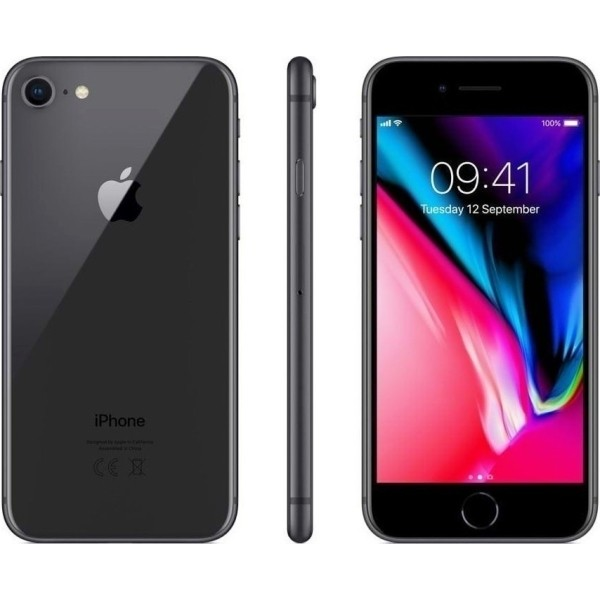 Apple iPhone 8 (64GB) - Black