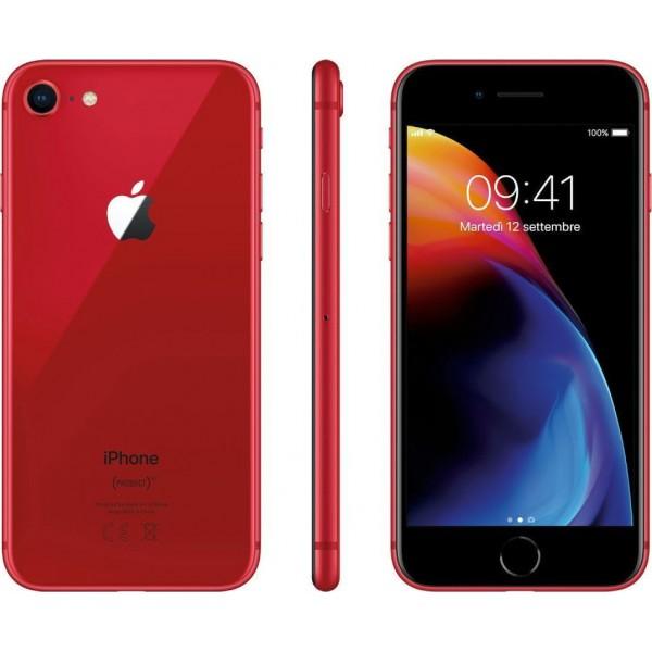 Apple iPhone 8 (64GB)  -  Red